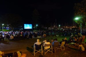 Manly Harbour movies in the park
