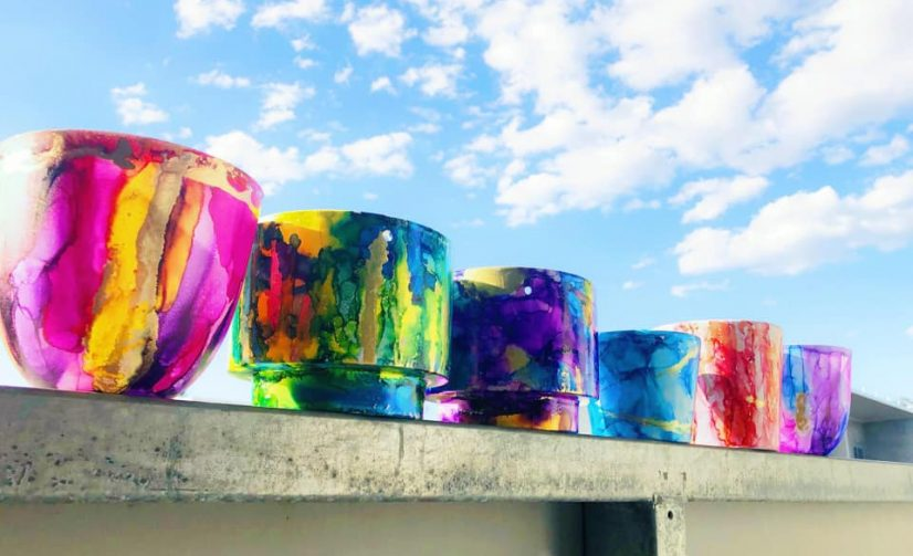 Learn How to Paint With Alcohol Ink at the Workshop Hub in Manly