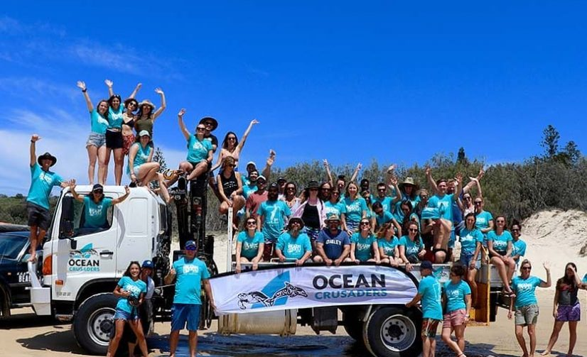 Ocean Crusaders Foundation in Manly Wins Outstanding Clean Green Award