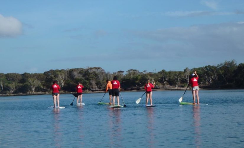 Stand Up Paddleboarding Sessions Happening in Manly