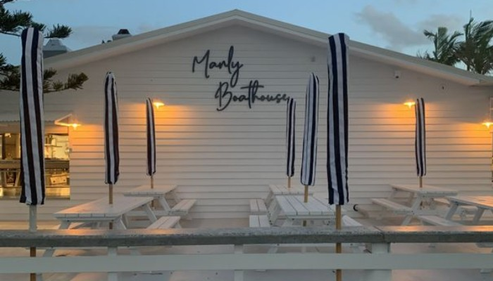 manly boathouse